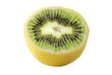 Genetic engineering - lemon with kiwi inside poster