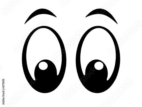 Leinwandbild Motiv eyes