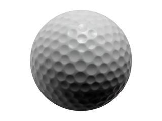 Golf Ball-Isolated