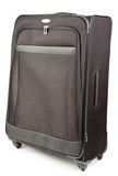 Black Large Size Luggage Suitcase On Wheels poster