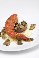 Filet steak and lobster