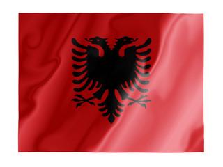 Albania fluttering