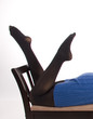 jambe de femme