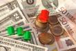 Immobilienmarkt Hauskauf Immobilien Haus Dollar und Euro