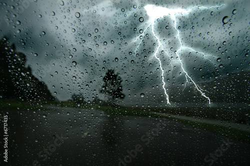 Leinwandbild Motiv Thunderstorm 2
