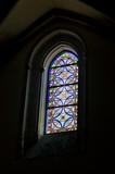 Window in Parish San Jeronimo el Real, Madrid. Spain poster