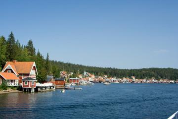 Der Sund vor der Insel Ulvön in Schweden