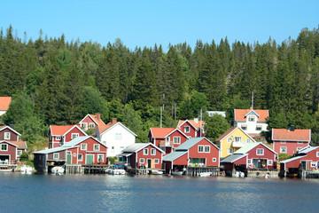 Insel Ulvön in Schweden