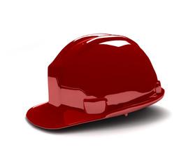 Casque rouge 001