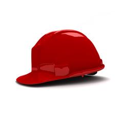 Casque rouge 002