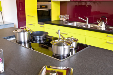 Fashionable modern kitchen