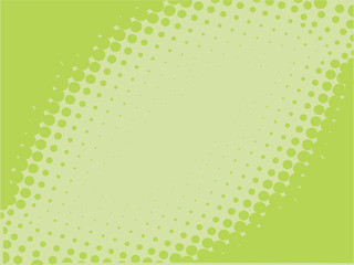 Green abstract vector background with space for your text