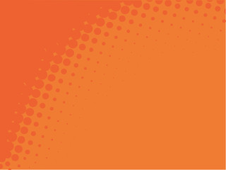 Orange abstract vector background with space for your text