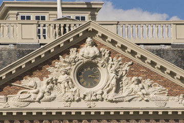 Clock at Paleis Het Loo (Royal Palace in The Netherlands)