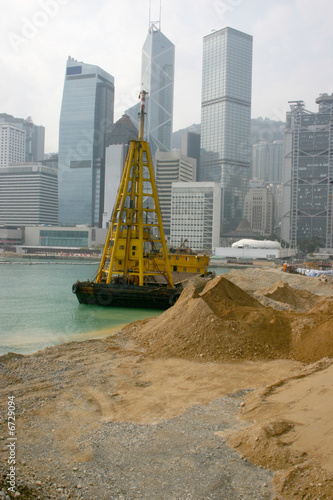 Hong Kong Island - Land reclaimation