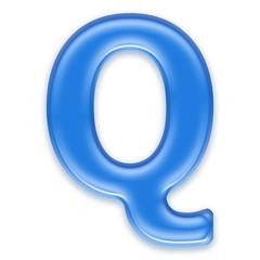 Aqua letters
