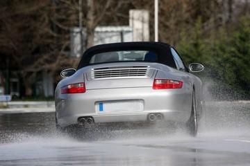 pilotage sous pluie