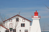 Lighting house of Niagara On The Lake local marina. poster