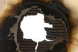 Burnt Cardboard Frame poster