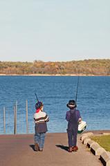 Boys Going Fishing