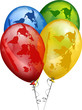 balões mundo