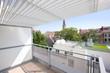 Leinwanddruck Bild - Architektur Balkon