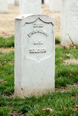 Unknown U S Soldier Headstone