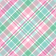roleta: Pink and Green Plaid
