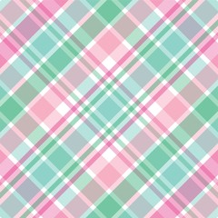 Pink and Green Plaid