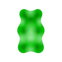 gummibärchen grün