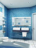 Fototapety bathroom interior