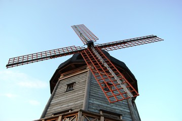 Traditional Holland wind mill