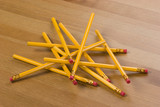 Pencil clutter poster