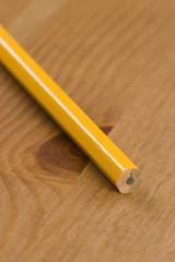 Graphite pencil point