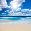 Leinwandbild Motiv Gorgeous Beach Landscape