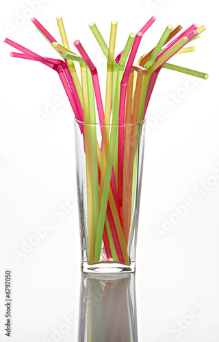 Straws for a cocktail