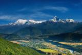 Annapurna massif poster