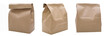 canvas print picture - 3 Paper Bags