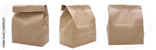 canvas print picture 3 Paper Bags