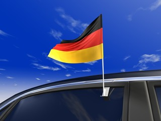 Auto-fahne Deutschland