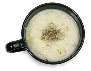 Herb Potato Soup