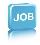 Job Sign - blue poster
