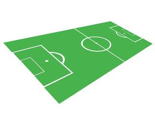 Fußballfeld Grafik