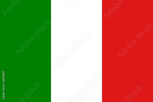 Green white and red flag of italy with official proportion alex white