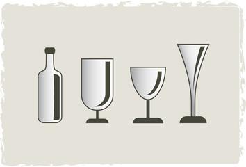 Trink-Gläser