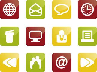 Internet und Web Icons