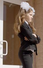 Fun school girl
