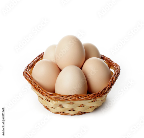 Staande foto Kip eggs