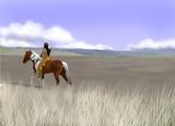 rider Apache poster