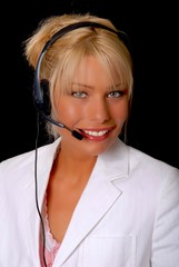 Lovely Blond Businesswoman